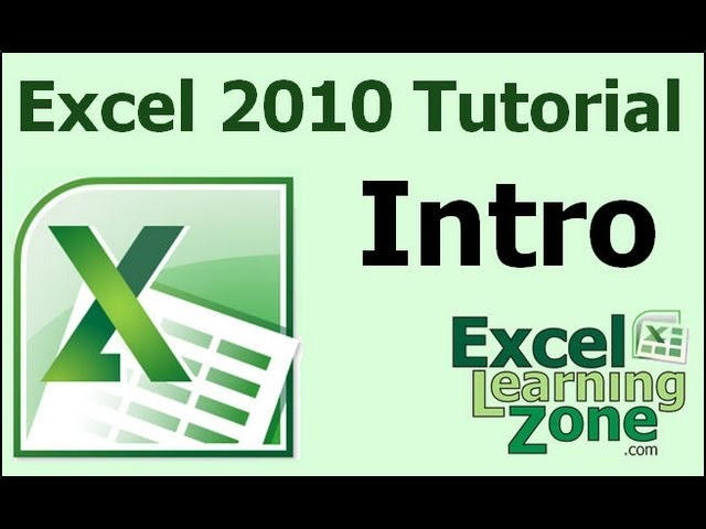 Microsoft Excel 2010 For Beginners