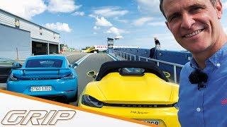 Porsche Cayman GT4 VS. 718 Spyder I GRIP