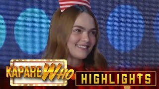 Vice Ganda asks Stephen her relationship with Ryan It&#39s Showtime KapareWho