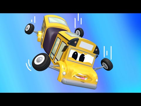 Super Truck - The BUS Is In Danger! - Car City -Truck Cartoons For Kids