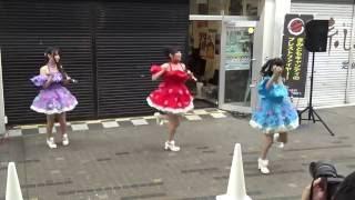 2016.7.1 高松常磐町商店街・FM高松前にて行われた、 奇天烈パフェ・CoC...