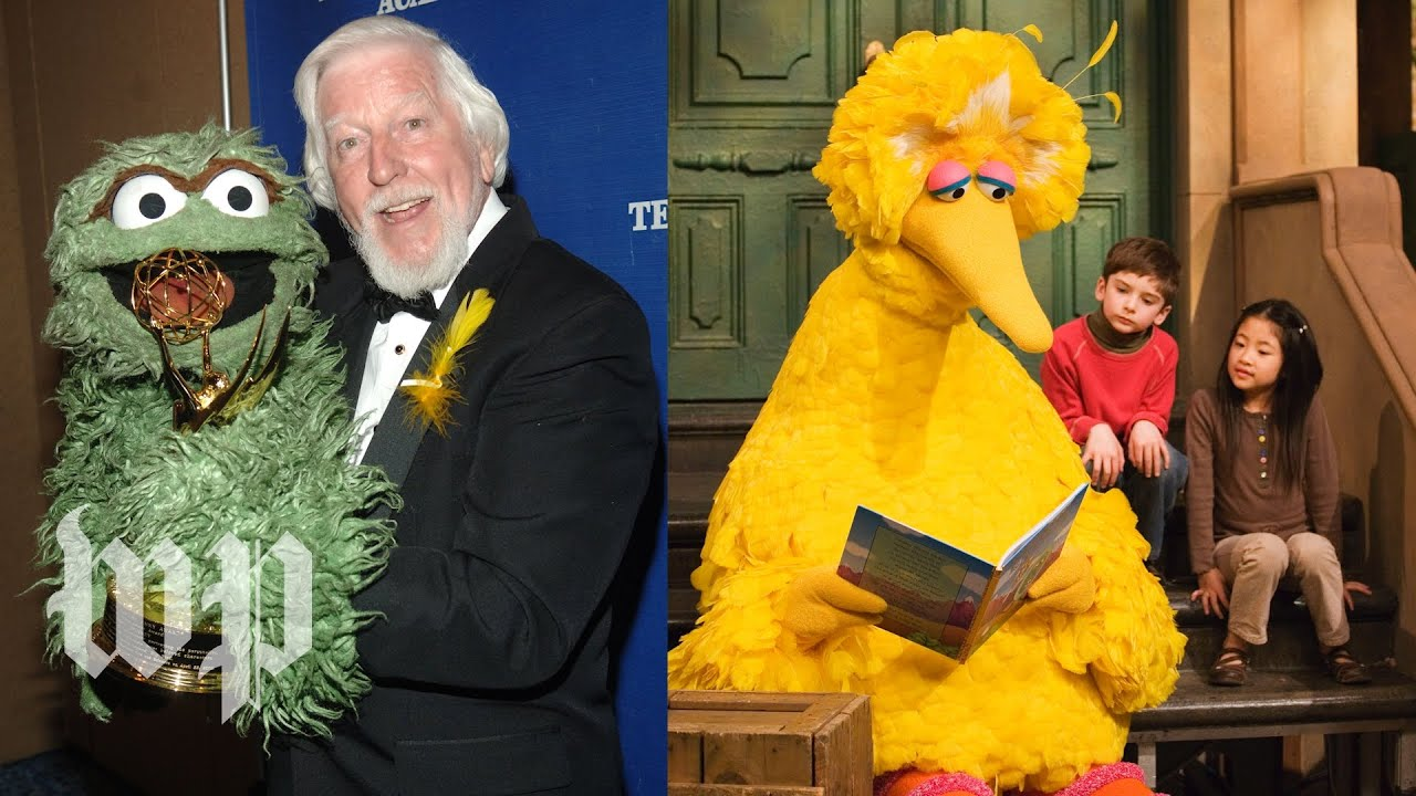The voice behind 50 years of Big Bird and Oscar