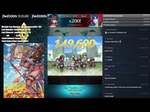 【Fire Emblem Heroes】 Arena Assault - Top,3000 - Final Day! Come Chat and Chill! :D