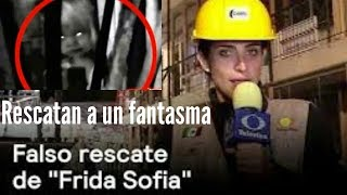 Video RESCATAN AL FANTASMA DE FRIDA SOFIA POR TERREMOTO Y LO TRANSMITEN EN VIVO POR TELEVISA download MP3, 3GP, MP4, WEBM, AVI, FLV September 2017