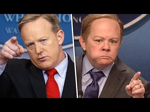 Thumbnail: Trump Team Freaking Out Over Melissa McCarthy's Sean Spicer Skit - The Ring Of Fire