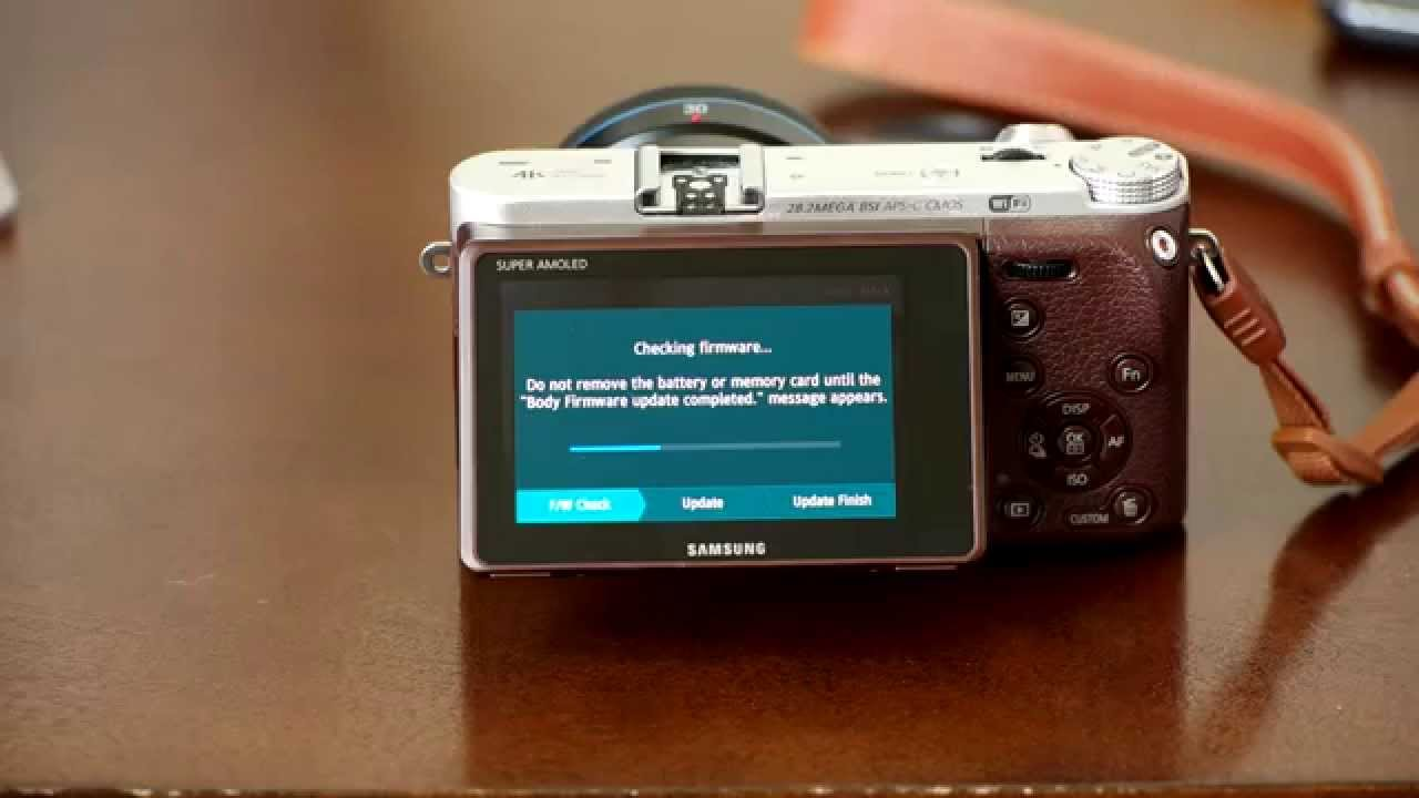 How To: Install Firmware Updates on Samsung NX Cameras