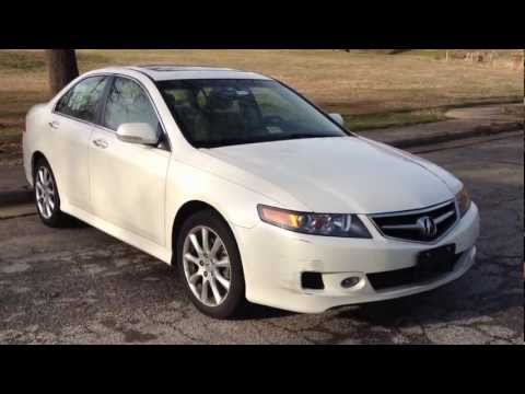 2007 Acura TSX Review, Walk Around, Start Up & Rev, Test Drive