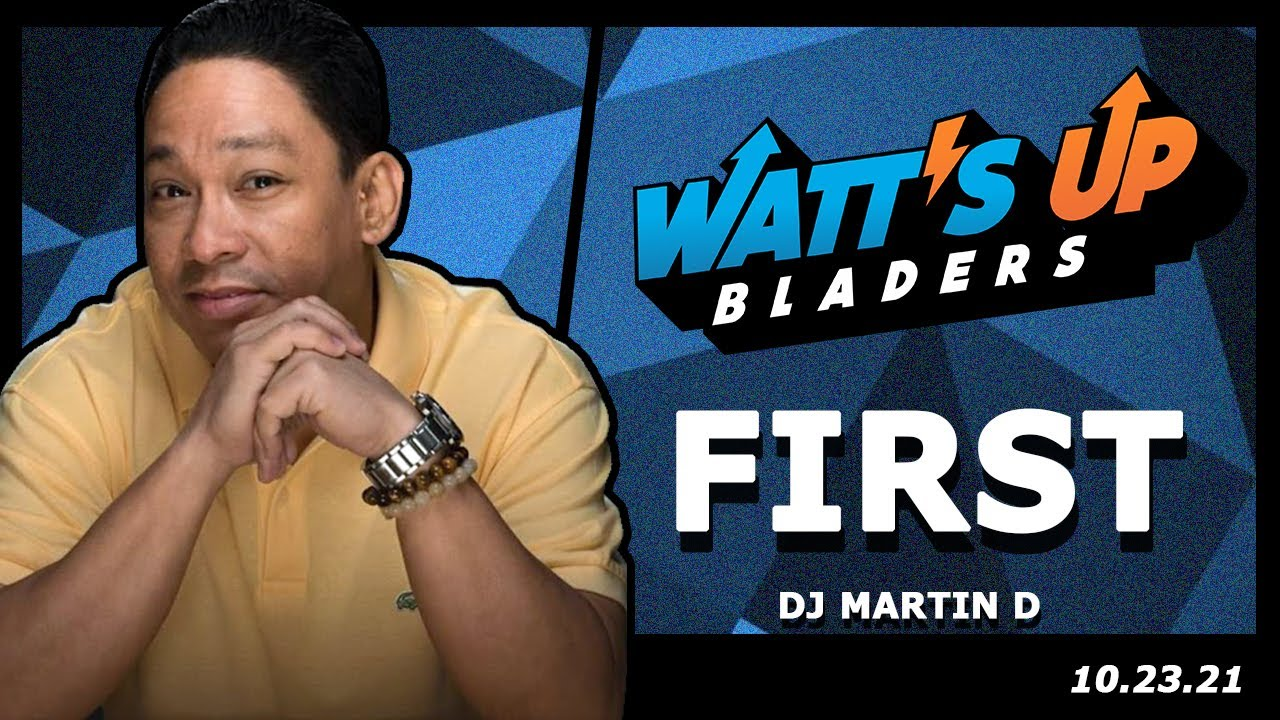 WATT'S UP BLADERS with DJ Martin D | Usapang FIRST TIME | Blade Radio Live