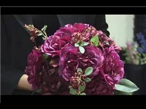Floral Arrangements Make Bridal Bouquet Out Of Silk Flowers