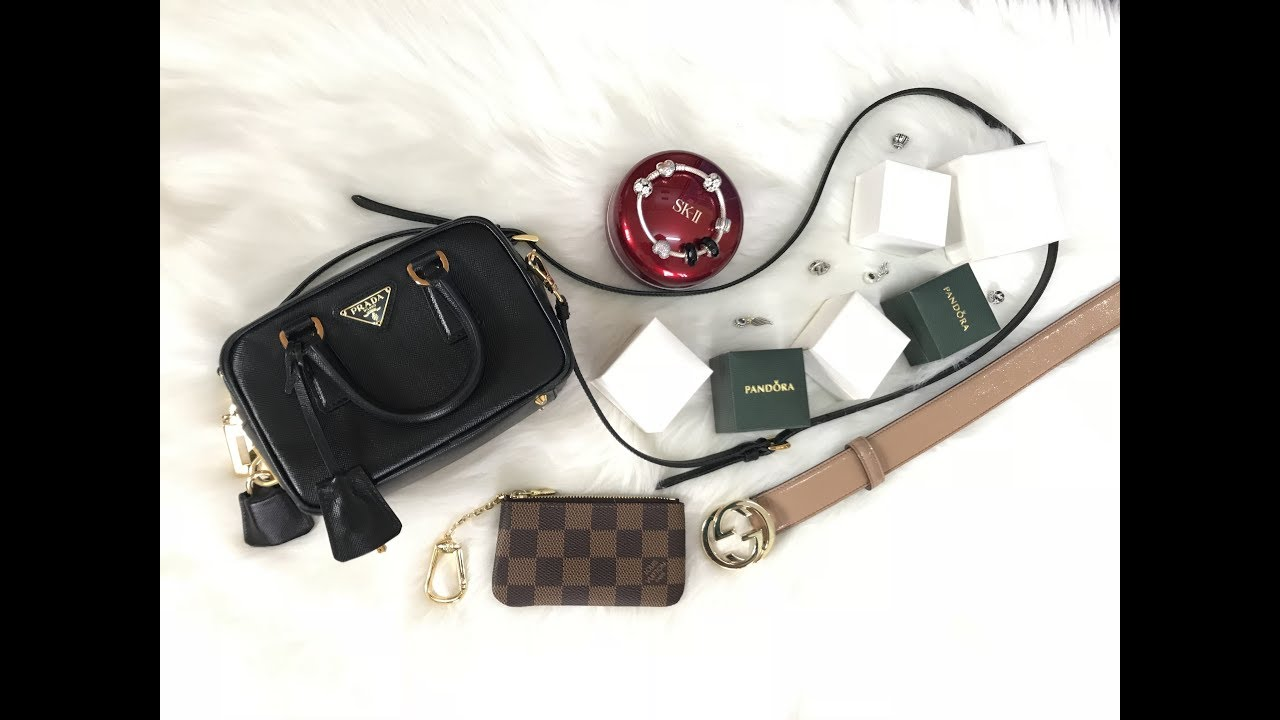 8abaa831142a Prada Saffiano Lux Mini Crossbody Bag Review | Luxurious Lover - YouTube