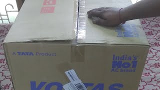 Voltas 75Tones Window AC Unboxing and Features Hindi Live Video