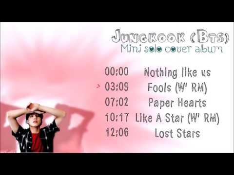 BTS Jungkook English Cover Album FULL