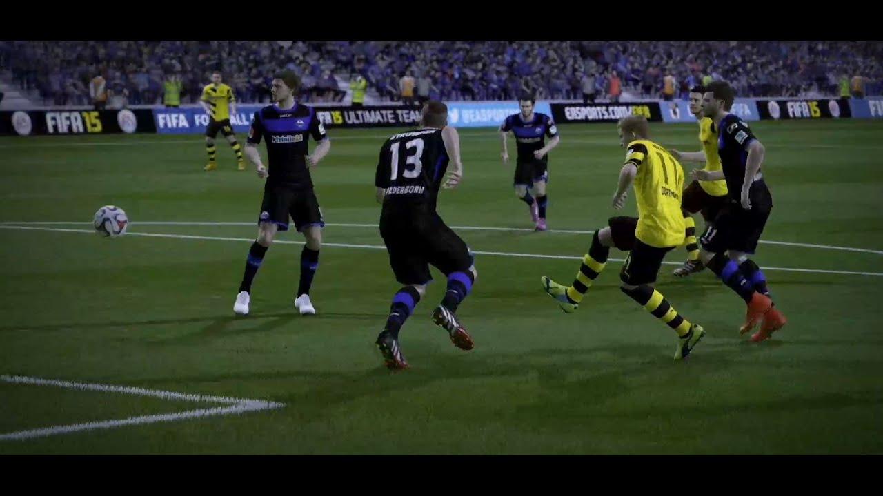 Sc Paderborn Vs Borussia Dortmund Bundesliga 12