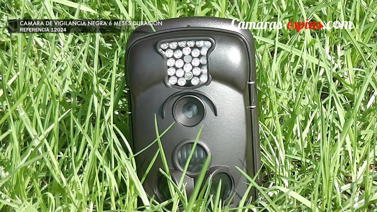 Video camara de vigilancia negra 6 meses de duraci n ref - Camaras vigilancia exterior ...