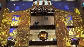 ЦДМ Самые большие в мире механические часы. Световое ШОУ