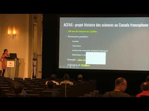 Sciences, histoire et projets Wiki, le mariage unique québécois