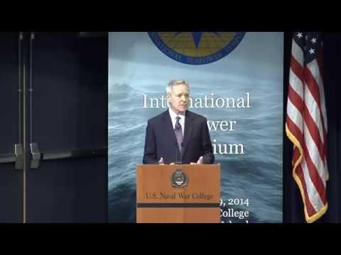 ISS 2014   Ray Maybus and Adm. Jonathan Greenert: International Seapower Symposium