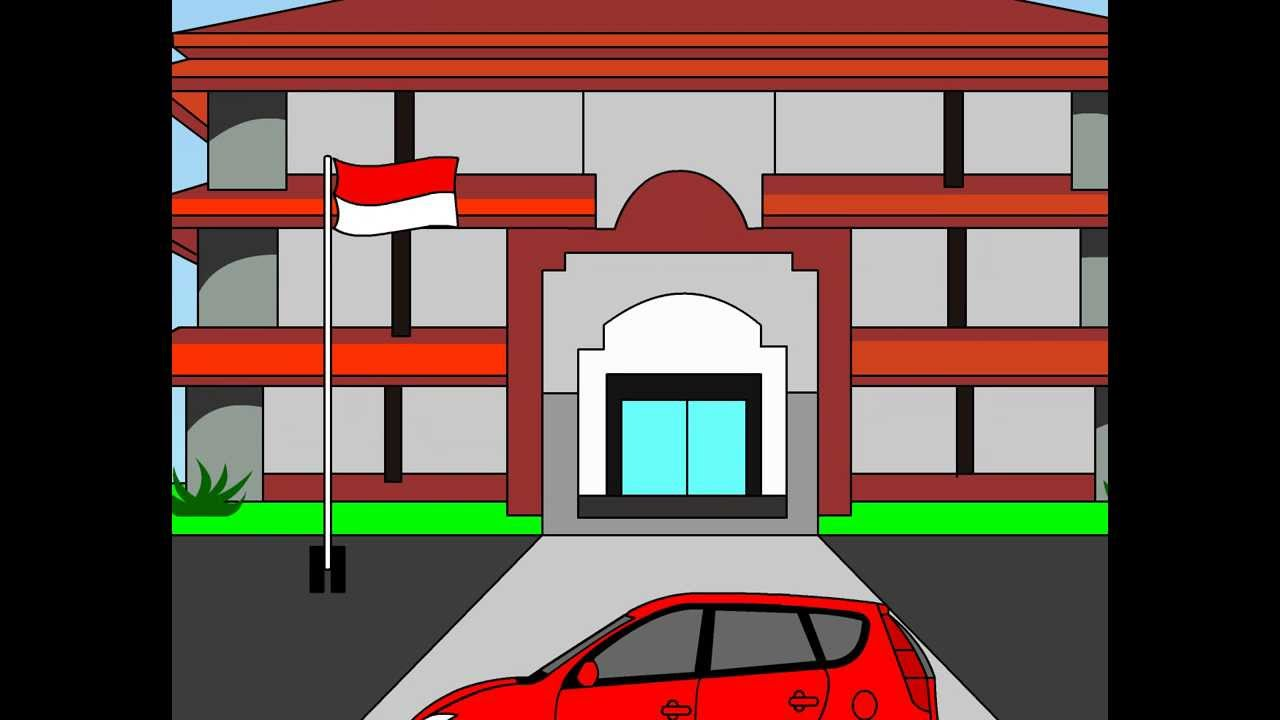 53+ Gambar Animasi Sekolah HD