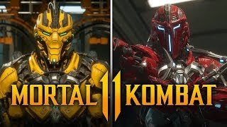 "MORTAL KOMBAT 11 - NEW Sektor & Cyrax Finisher Name FOUND! ""Fighter Pack 3"" Files Explained & More!"