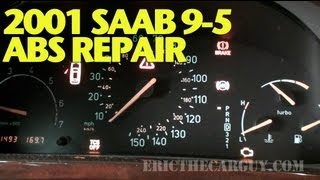 Solving 2001 Saab 9-5 ABS/TCS/CEL Problem -EricTheCarGuy(Visit me at: http://www.ericthecarguy.com/ This 2001 Saab 9-5 came in with just about every light lit up on the dash. The first code I pulled was a P1625 for the ..., 2013-04-26T11:06:06.000Z)
