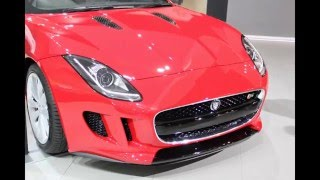 Upcoming Jaguar F Type Road Ster In India at Delhi Auto Expo 2014