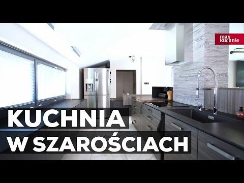Kuchnia W Szarościach Studio Max Kuchnie Kuchnie Marzeń
