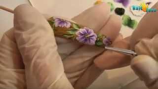 Китайская роспись ногтей   Дизайн ногтей