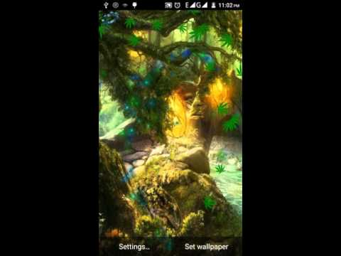 Green Weed HD Live Wallpaper