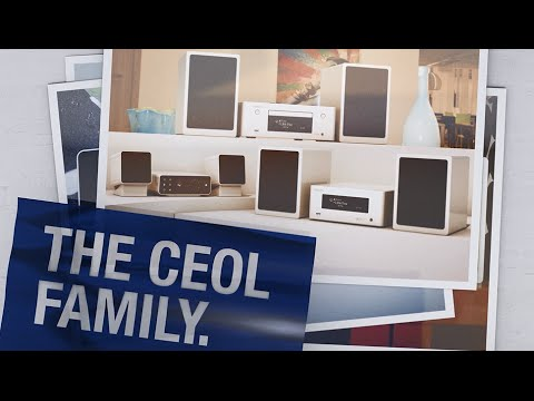 The new Denon CEOL family. Free your sound