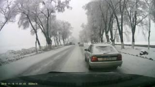 Первый снег Бишкек ДТП