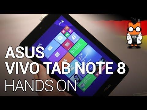 ASUS VivoTab Note 8 Windows-Tablet im Hands-on [GER]