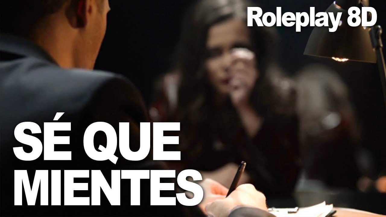 DETECTIVE te interroga...😏 | Roleplay 8D | Best ASMR Ever