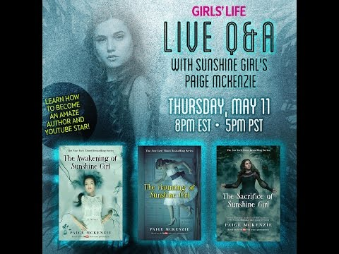 Girl's Life live event with Paige McKenzie