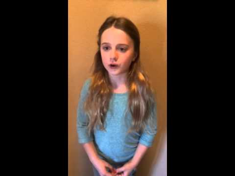 Audrey - monologue