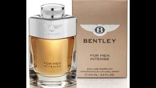 First impressions: Bentley Intense for men