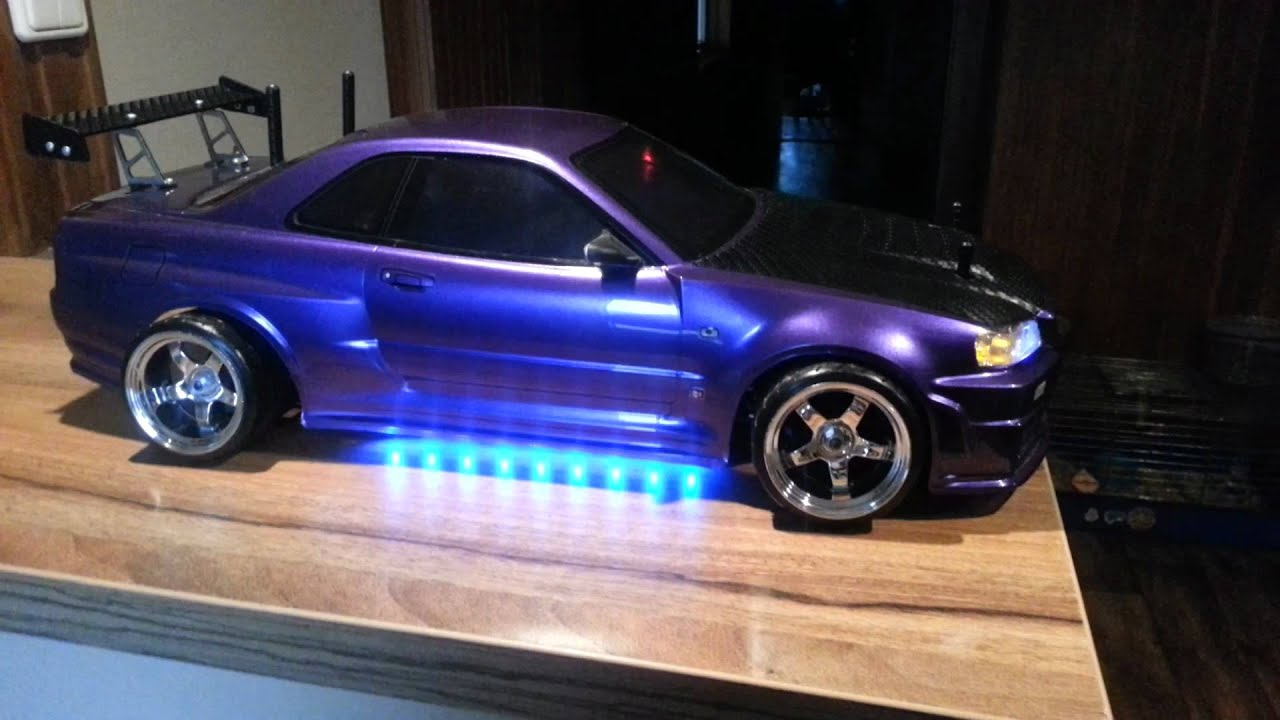 Nissan Skyline R Rc Drift Tuning Sound Smoke Youtube