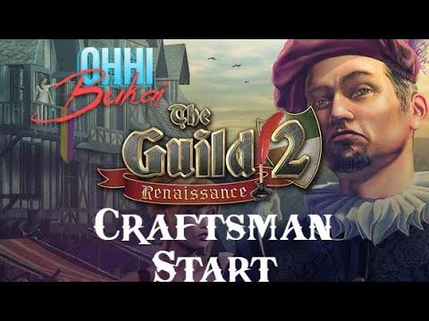 The Guild 2 Renaissance: Hard Ulm Ep. 1 Craftsman Start |