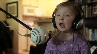 "Maddie and Zoe sing ""Let It Go"" from Disney"
