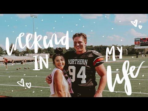 Weekend In My Life! + college football & more! | Valeria Berz