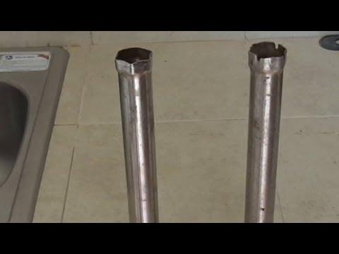 Llave de tubo para contratuercas de mezcladoras youtube for Llaves para lavabo antiguas