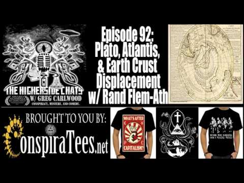 THC 92: Plato, Atlantis, & Earth Crust Displacement w/ Rand Flem-Ath