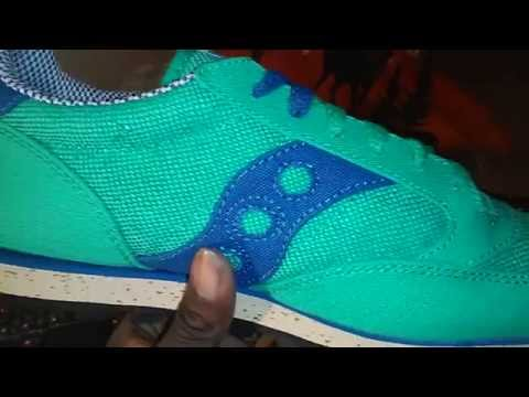 Sneaker Collection: Saucony Jazz Vegan Blu/Gre Video 132