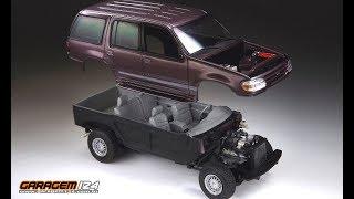AMT ERTL 1996 Ford Explorer 4x4 1:25 Scale Model Kit 8968 New