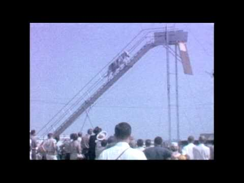 Horse Diving - Archive Footage 1960s
