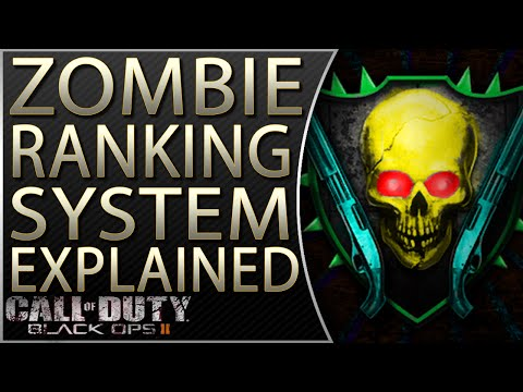 Zombie Storyline | Black Ops 2 Zombies Ranking System Explained | How Zombie Ranking Works