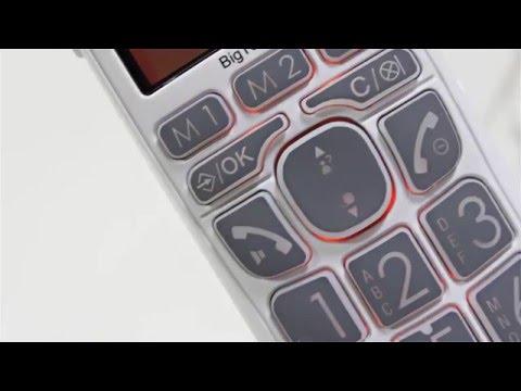 Seniorentelefon Audioline BigTEL 165