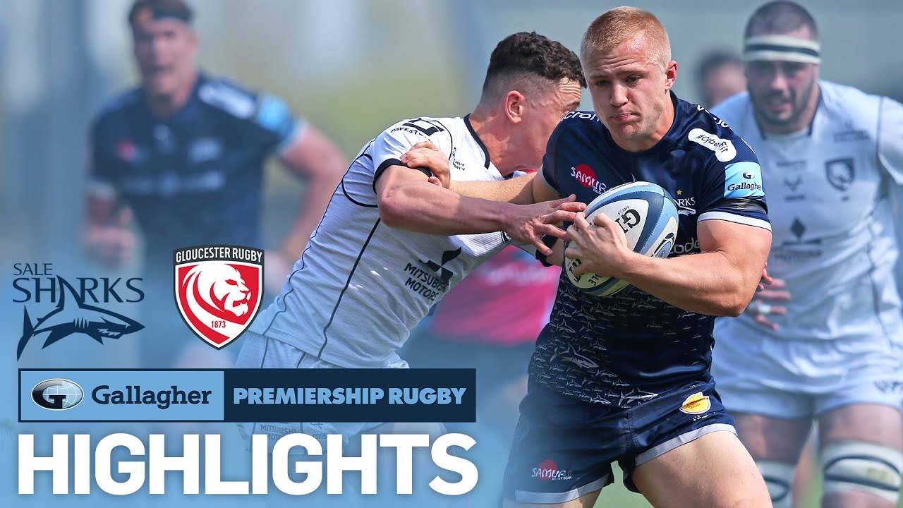 Sale v Gloucester   Penalty Decides Points in Final Minutes!   Gallagher Premiership 2020/21
