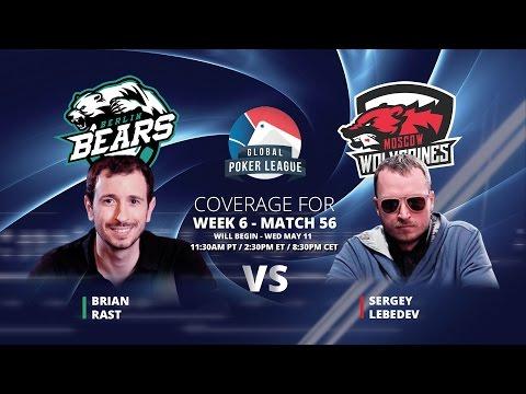 Replay: GPL Week 6 - Eurasia Heads-Up - Brian Rast vs. Sergey Lebedev - W6M56