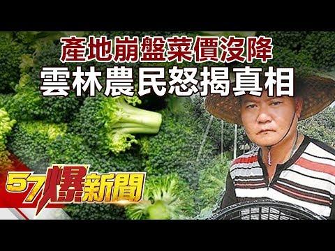 產地崩盤菜價沒降 雲林農民怒揭真相《57爆新聞》精選篇 網路獨播版