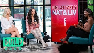 """Nat & Liv"" follows Natalie Halcro and Olivia Pierson (both of ""WAG..."